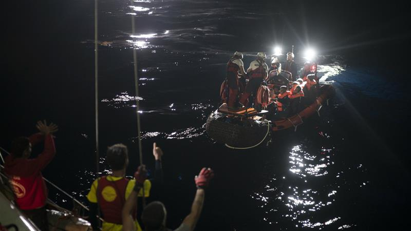 Boats carrying migrants to Europe capsize, dozens drown
