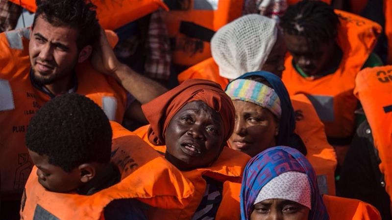'Despite the hurdles, we continue to protect the right to life of invisible people,' Proactiva Open Arms said [Olmo Calvo/AP]