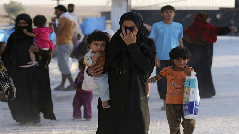 Coalition members must publicly acknowledge the scale and magnitude of destruction of civilian property in Raqqa, the rights group said [File: The Associated Press]