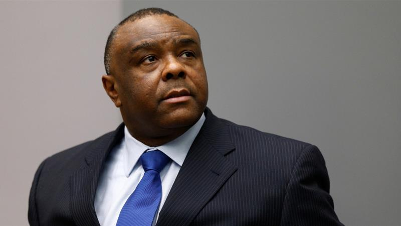 Bemba became vice president of the Democratic Republic of the Congo in 2003 [File: Michael Kooren/Reuters]