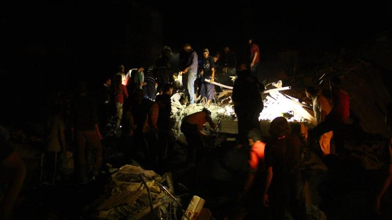 Air strikes kill at least 44 overnight in Syria's Idlib