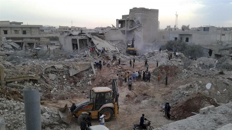 Air Raids Killed At Least 44 People Last Week In The Village Of Zardana In