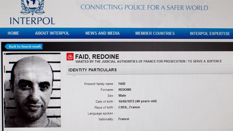 Escaped French criminal Redoine Faid had small team of loyal accomplices