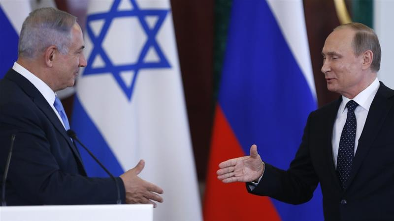 Despite Israel's opposition to Syria's Assad, it has managed to forge ties with his ally, Putin [AP]