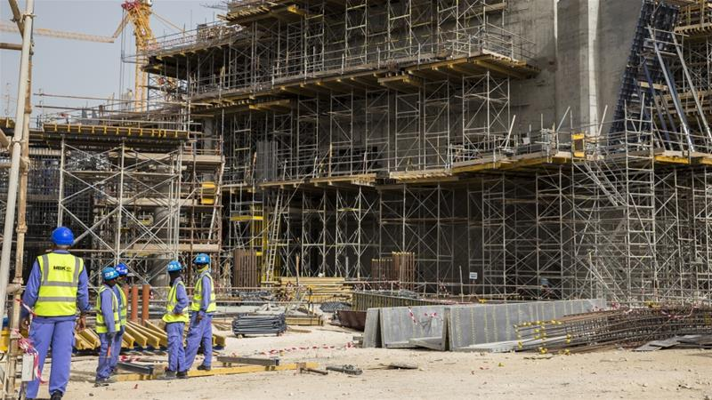 There are more than two million migrant workers in Qatar, including almost 30,000 working on World Cup-related projects [Faras Ghani/Al Jazeera]