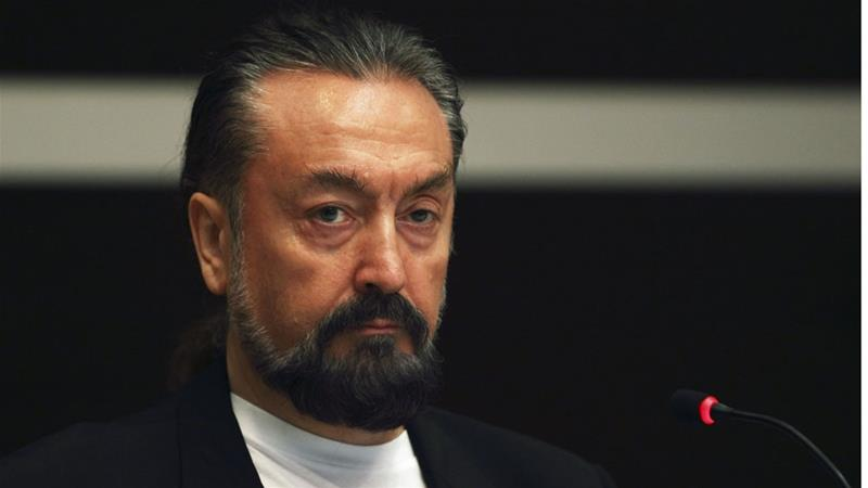 Adnan Oktar, also known as Harun Yahya, was arrested from his home in Istanbul [Reuters]