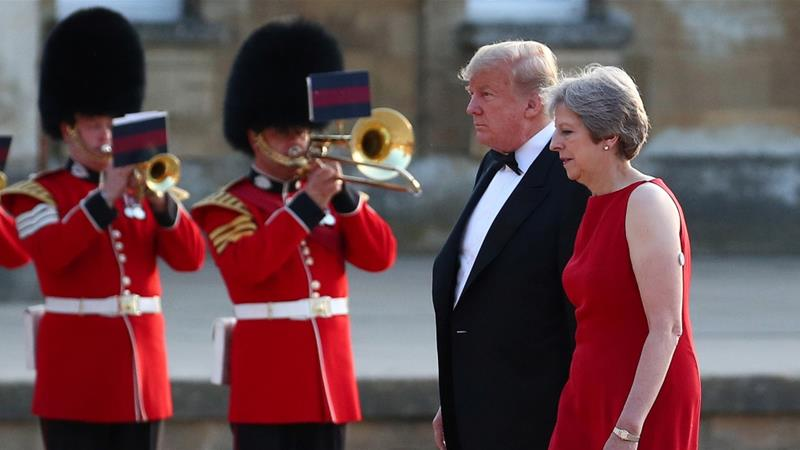 Trump says May's Brexit plan could kill hope of US trade deal