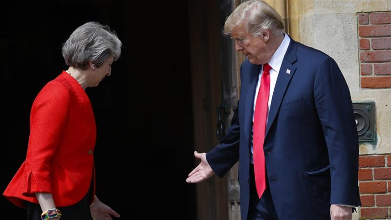 Trump's visit ruffles feathers, sets back UK-US special relationship — Interview