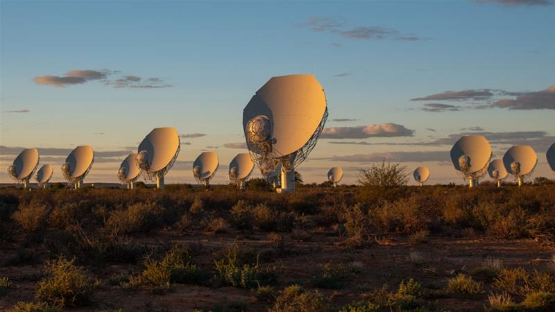 When fully operational, the SKA telescope will be 50 times more powerful than the current ones [South African Radio Astronomy Observatory]