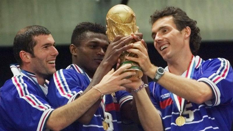 France won the 1998 World Cup after defeating Brazil 3-0 at the Stade de France on July 12 [AP/Michel Euler]