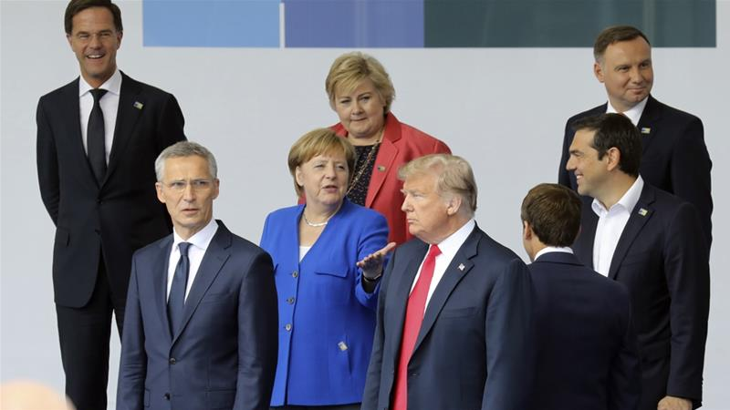 Last week, Trump accused Germany of being 'captive' to the Russian government [File: AP]