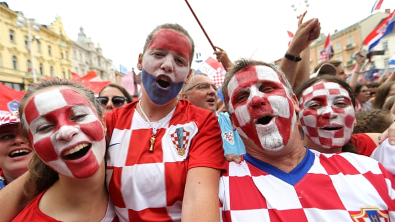 'This is our gold': Croatian team gets massive welcome home