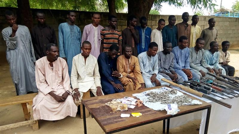 JUST IN: Police arrest eight suspects 'involved in abduction of Chibok girls'