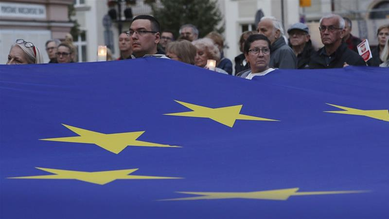 European Union starts rule-of-law procedure against Poland