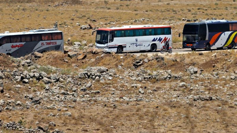 Syria's war: Evacuation of rebels from Quneitra set to begin