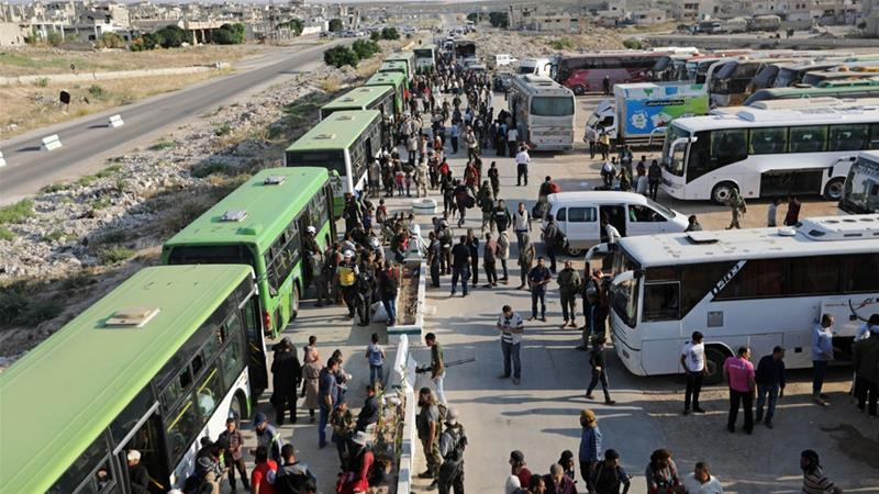 Syria's War: Rebels Reach North After Quneitra Evacuations