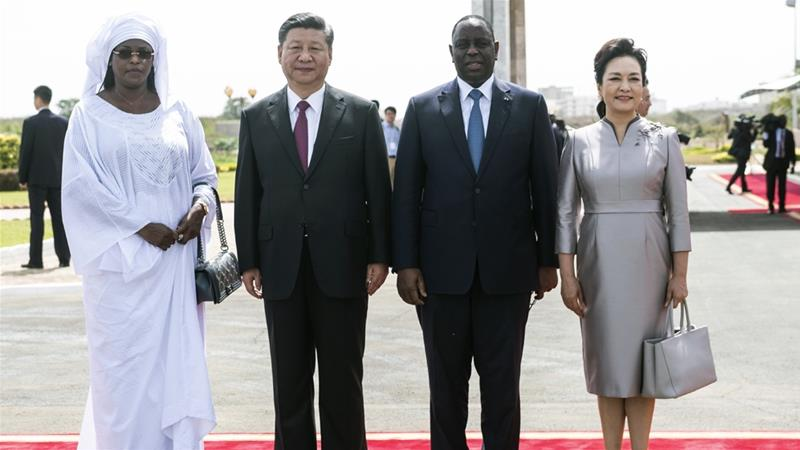 China's Xi welcomed in Senegal at start of Africa trip