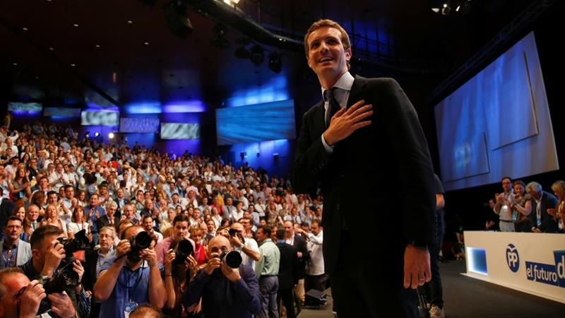 Spain: People's Party Picks Pablo Casado As New Leader