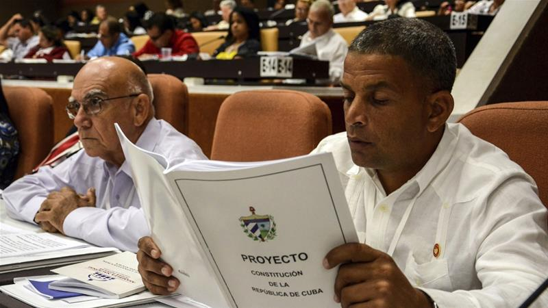 Cuba's draft constitution omits the aim of building communism