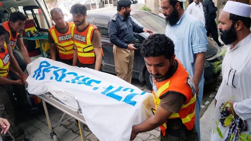 Pakistan election candidate killed in suicide bombing