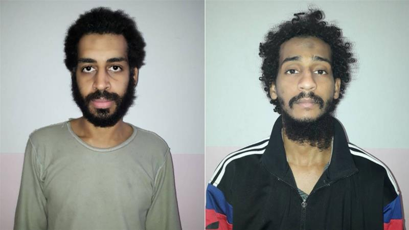If extradited to the US, British ISIL suspects El-Shafee Elsheikh and Alexanda Kotey could be executed or sent to Guantanamo Bay where detainees face years of detention without trial [Reuters]
