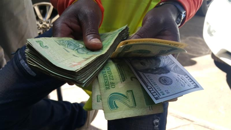 Zimbabwe has faced foreign currency and cash shortages [Daylife]