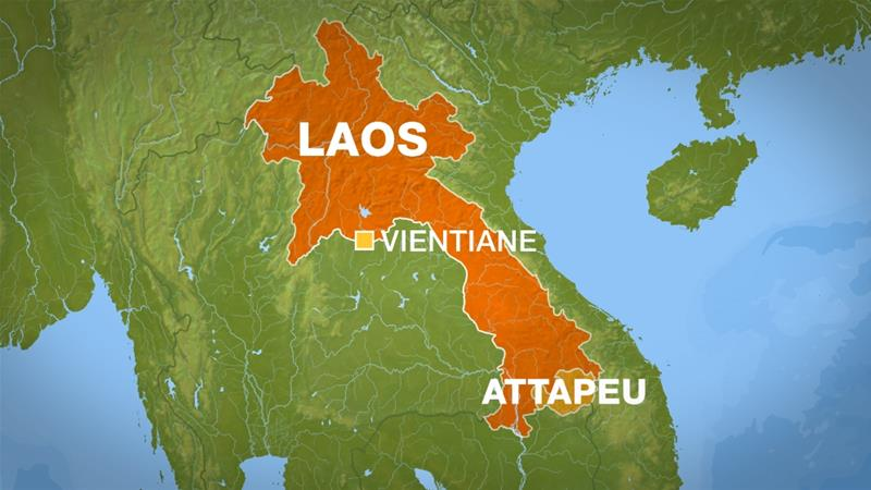 Dam collapse in Laos leaves hundreds missing and unknown number feared dead