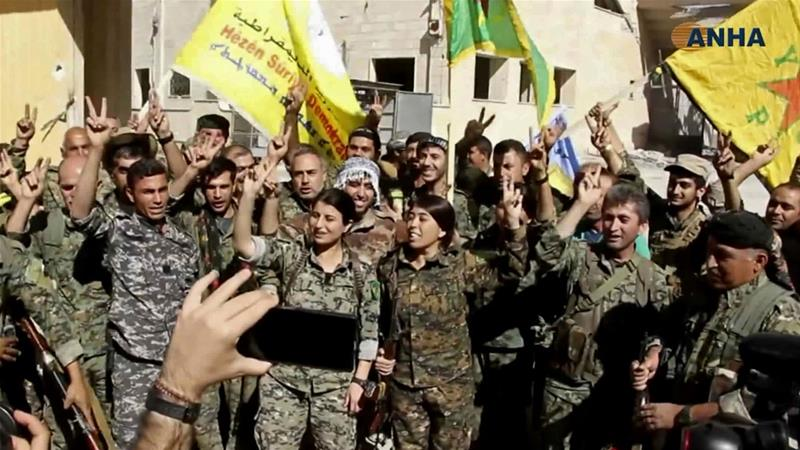 It is estimated that the SDF controls more than 27 percent of Syrian territory [File: Hawar News Agency via AP]