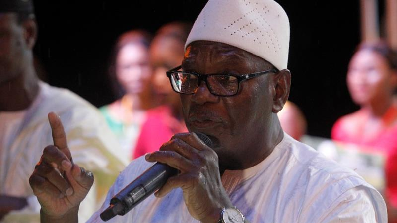 Ibrahim Boubacar Keita got 67.2 percent of the votes in the August 12 runoff [Reuters]