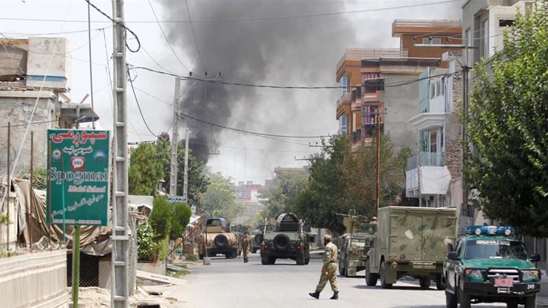 Militants launch attack in eastern Afghan city of Jalalabad