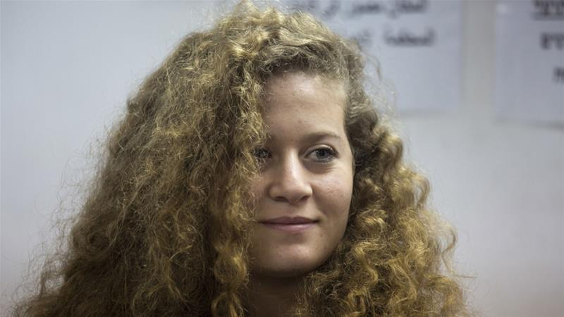 Palestinian Ahed Tamimi freed from jail