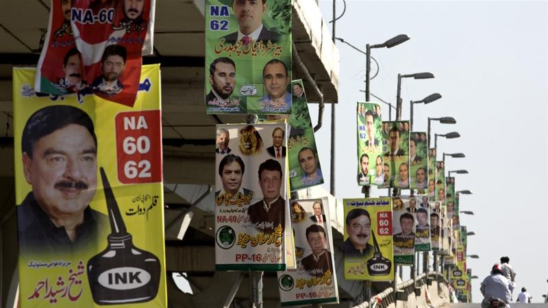 Pakistan urged to protect press freedom ahead of elections