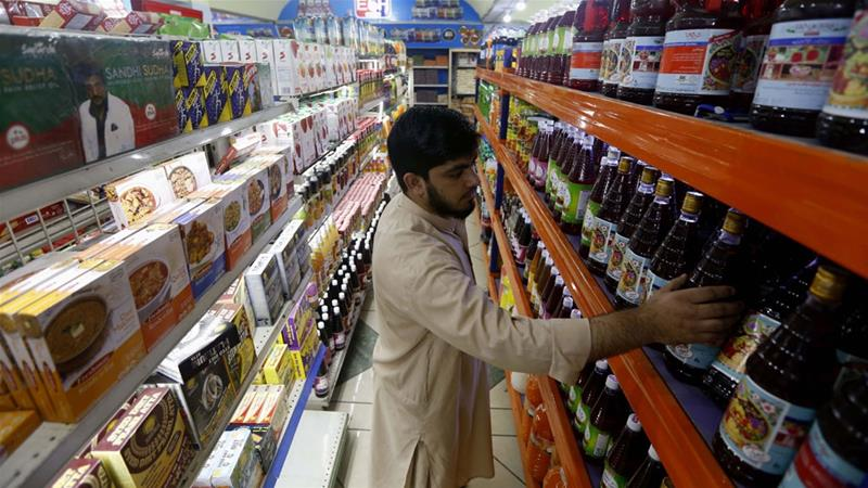 The rise in consumption has not been accompanied by a rise in investment in the private sector, analysts say [Bilawal Arbab/EPA]