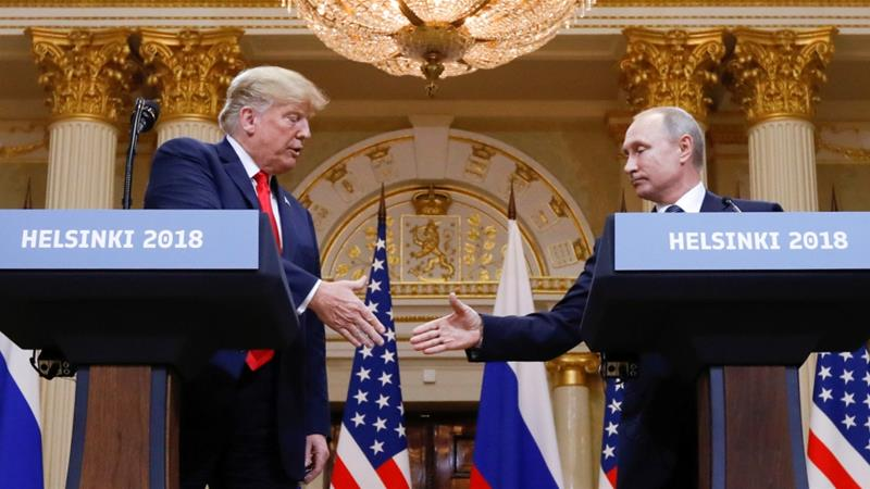 It's likely that Syria was a key topic in the one-on-one meeting between US President Donald Trump and Russia's Vladimir Putin in Helsinki, writes Kabalan [Reuters]