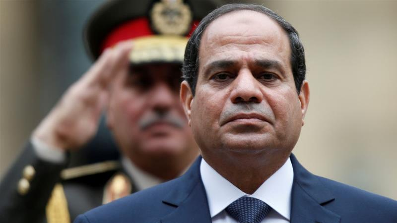 Abdel Fattah el-Sisi has cracked down on critics since seizing power in a 2013 military coup [Reuters]