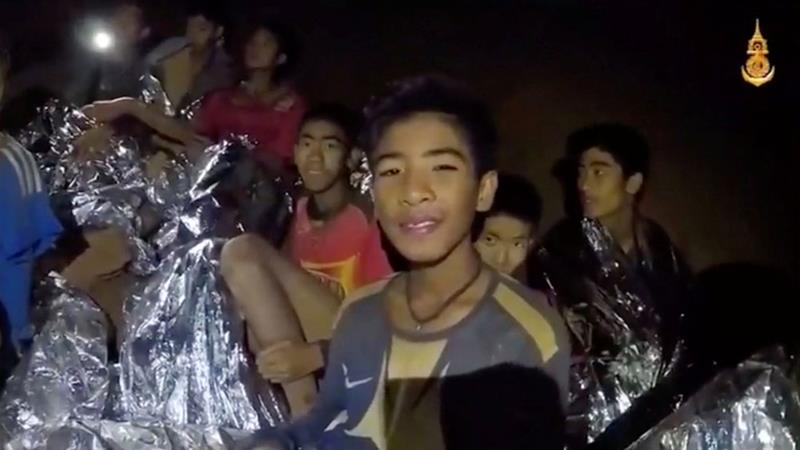 Thai cave rescue: First of the trapped boys emerge
