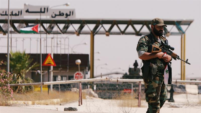 What is the impact of Syrian forces' gain in Deraa?