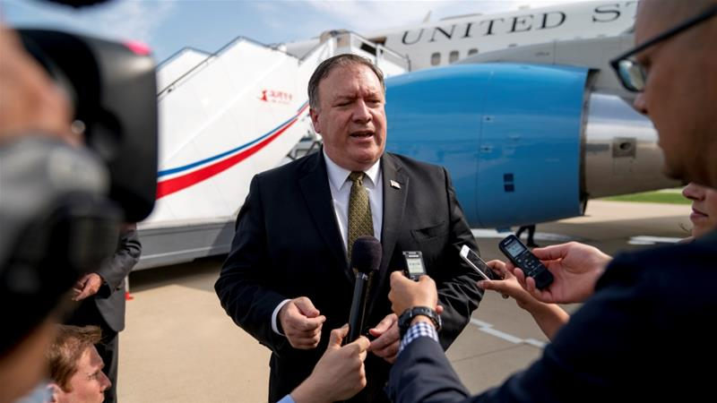 North Korea: Mike Pompeo rejects 'gangster-like' accusation
