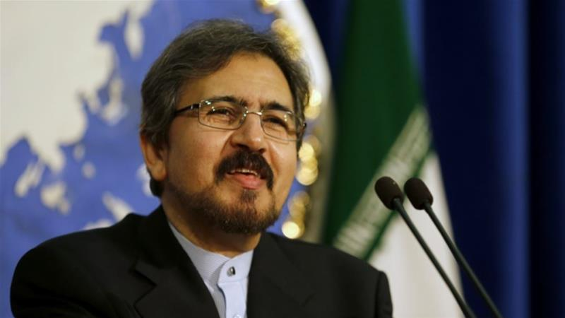 Bahram Qasemi, the Iranian foreign ministry spokesman, condemned the Dutch move [File: AFP]