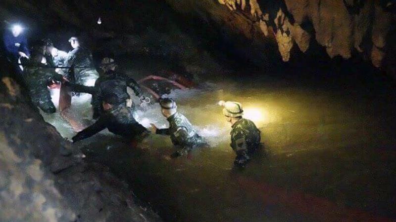 thai cave rescue operation - photo #8