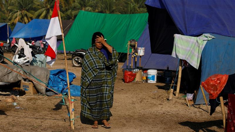 More than a quarter of a million were displaced by a series of earthquakes on Indonesia's Lombok