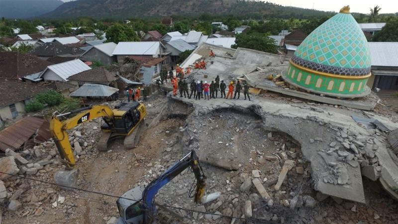 Indonesia's Lombok, Sumbawa islands again hit by deadly quakes