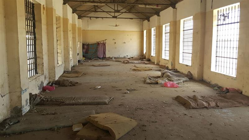 A deserted cell in the public section of Aden Central Prison [File: Maad El Zikry/AP Photo]