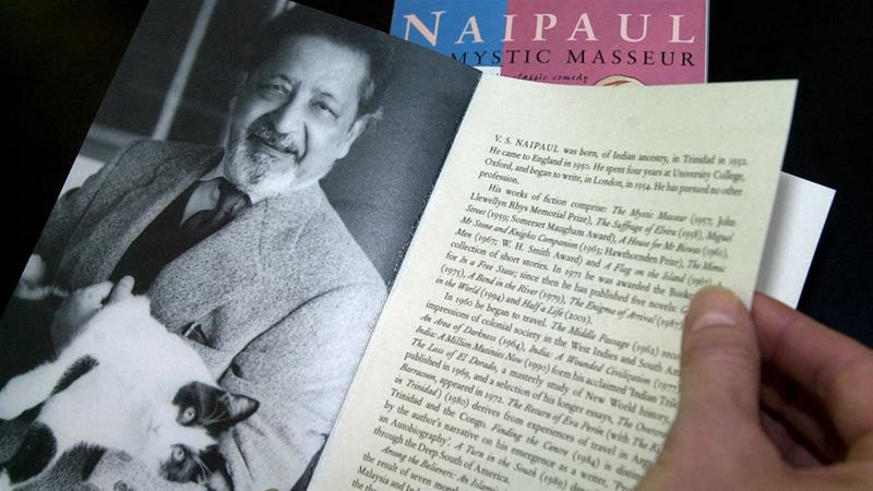Naipaul was critical of colonialism, but set himself apart from any social movements [Ralph Orlowski/Reuters]