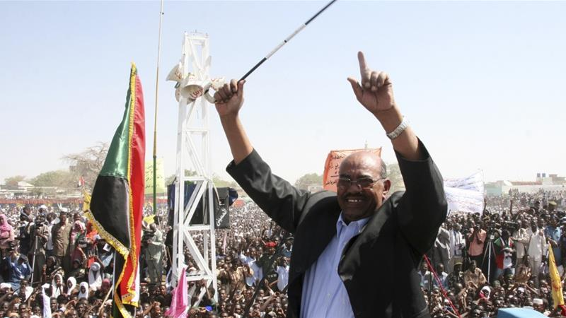Sudan's 74-year-old President Omar al-Bashir has been in power since a 1989 military coup [Reuters]