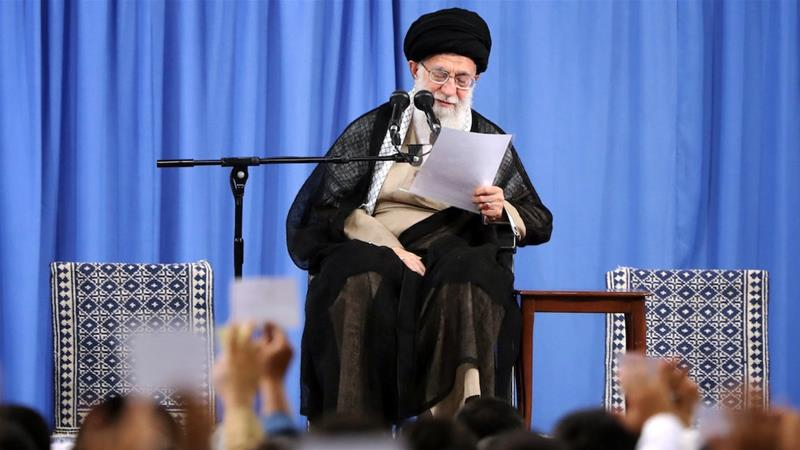 Iran's Khamenei: No war, no negotiations with Trump