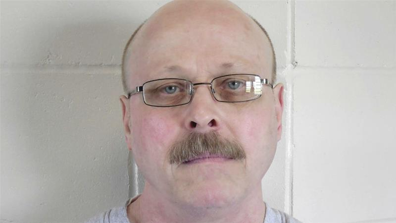 Carey Dean Moore was pronounced dead at 10:47am local time (15:47GMT) on Tuesday [File: Nebraska Department of Correctional Services/AP Photo]
