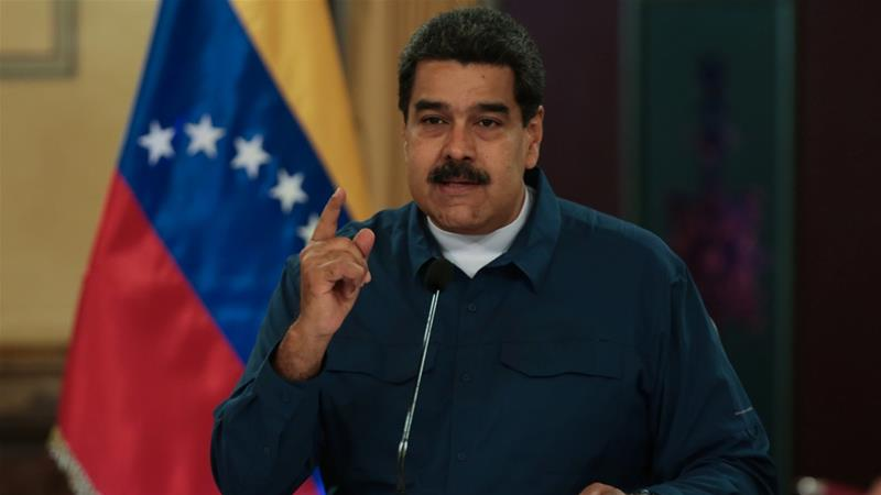 Maduro said Venezuela loses billions through fuel smuggling each year [Miraflores Palace Handout via Reuters]