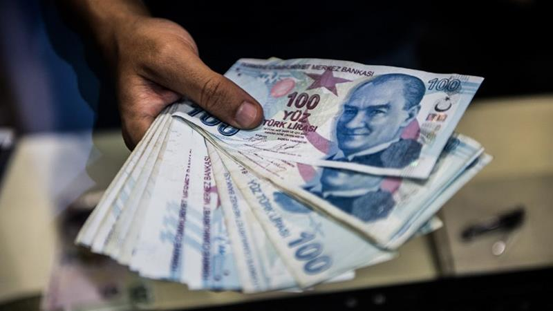 The Turkish lira tumbles to 5.86 over threat of more U.S. sanctions