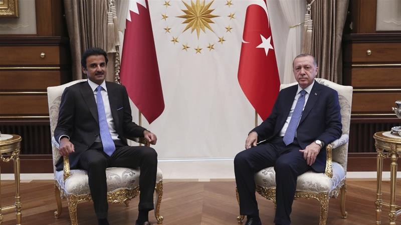Qatari emir vows $15bn investment in Turkey after Erdogan meeting
